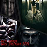 Film Horror Collection 2021 Wall Calendar: 12 Month Calendar With Many Colorful Photos. Size 8.5 x 8.5 Inches.