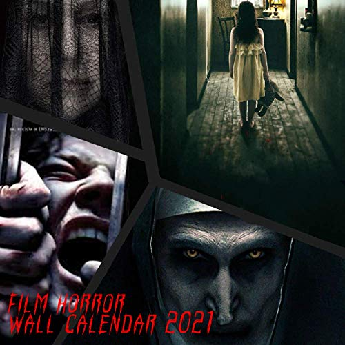 Compare Textbook Prices for Film Horror Collection 2021 Wall Calendar: 12 Month Calendar With Many Colorful Photos. Size 8.5 x 8.5 Inches  ISBN 9798569031665 by Colorworld, Princess