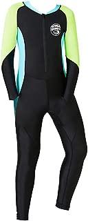 CapsA Neoprene Swimsuit Boys Kids Wetsuit Snorkeling Jumpsuit Short Sleeve Diving Suit