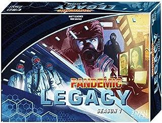 Z-Man Games Pandemic Legacy Board Game, Blue