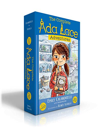 The Complete Ada Lace Adventures: Ada Lace, on the Case / Ada Lace Sees Red / Ada Lace, Take Me to Your Leader / Ada Lace and the Impossible Mission / Ada Lace and the Suspicious Artist