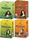 AncientVeda 100% Natural Hair Powders (Combo Pack 1)
