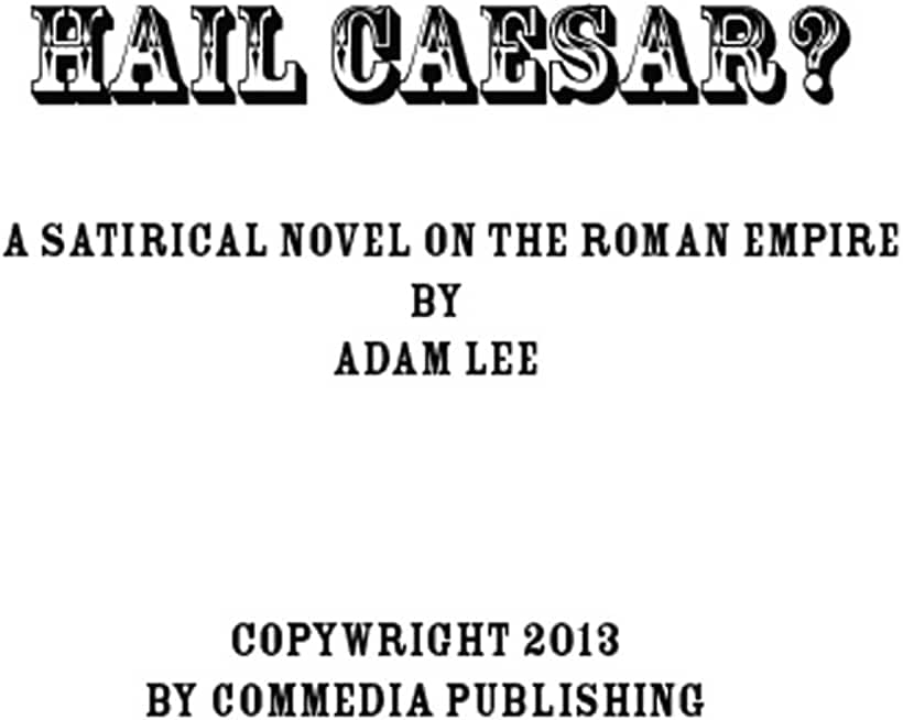 Hail Caesar? (English Edition)