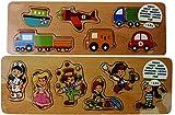 Puzzle de madera con diseño de niño pequeño de pared diseño de puzzle de madera educativo de juguetes de los niños