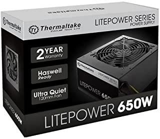 Thermaltake 650 Yes Power Supply (PS-LTP-0650NPCNUS-F)