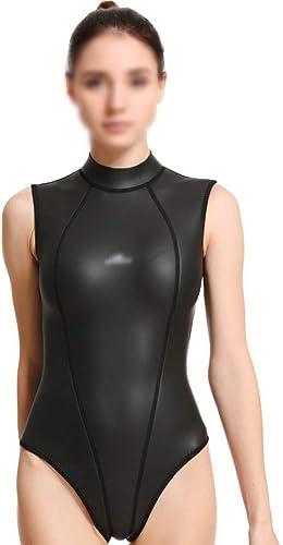 FELICILII Combinaison De Plongée Femme 3mm Plongée Plongée Libre Surf Slim CR Combinaison De Plongée en Néoprène Femme