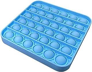 Pop it Bubble Sensory Fidget Toy -Square - Light Blue