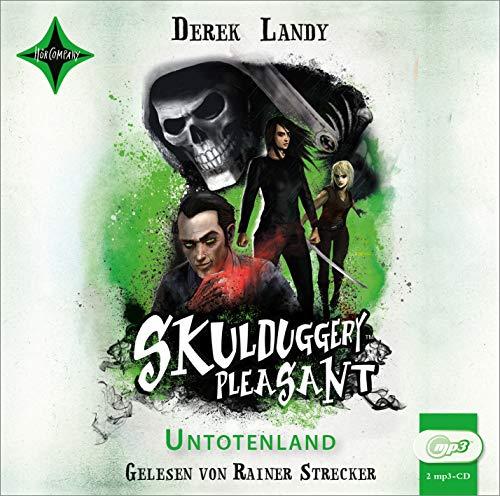 Skulduggery Pleasant 13 - Untotenland: gelesen von Rainer Strecker, 2 mp3-CD, ca. 10 Std.