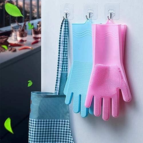 K1 Cafe een paar afwashandschoenen keuken siliconen schoonmaken magische schotel wassen voor huishouden scrubber
