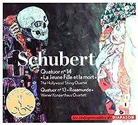 VIENNA KONZERTHAUS QUARTET-HOLLYWWOD STRING QUARTET - Schubert -Quartets N.13 Rasamunde & N.14 death And The Maiden (1 CD)