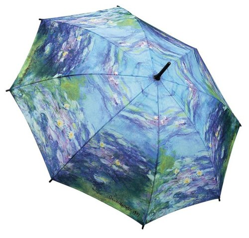 Galleria Monet Water Lillies Auto Stick Umbrella (Water Lilies)