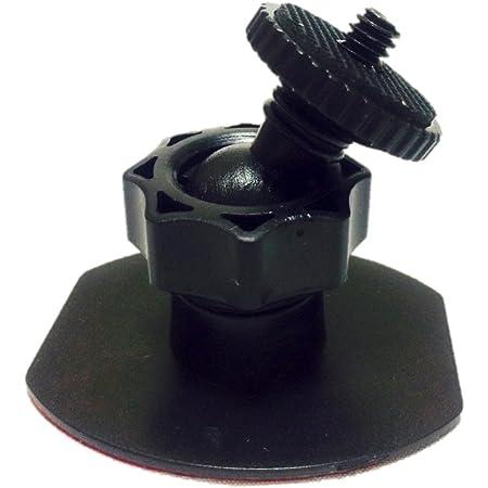 小回りが効く 最小型 マウント 車装カメラ  ドライブレコーダー用 ネジ穴 3M吸着テープ