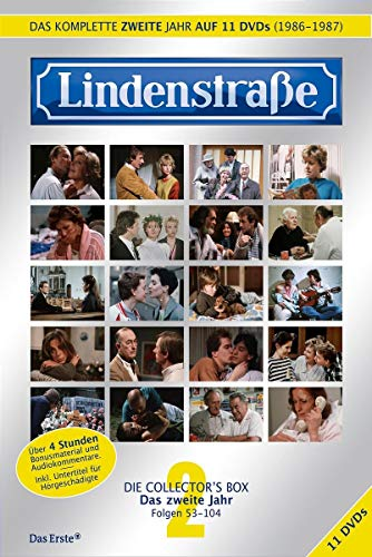 Lindenstraße - Das komplette 2. Jahr (Collector's Box) (11 DVDs)