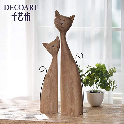 Delizioso gatto cucciolo arrangiamento gatto controllato regalo creativo donna gioielli casa modello gatto, collezione merchandise