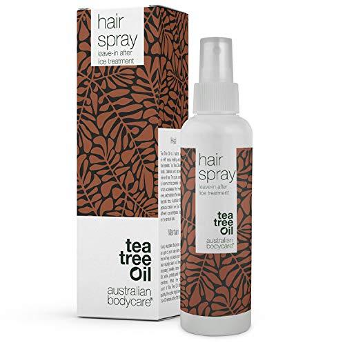 Australian Bodycare Hair Spray 150ml | Nachfolgendes Spray bei erfolgreicher Kopfläusebehandlung für die ganze Familie | Kopfläusespray mit 100% natürlichem Teebaumöl