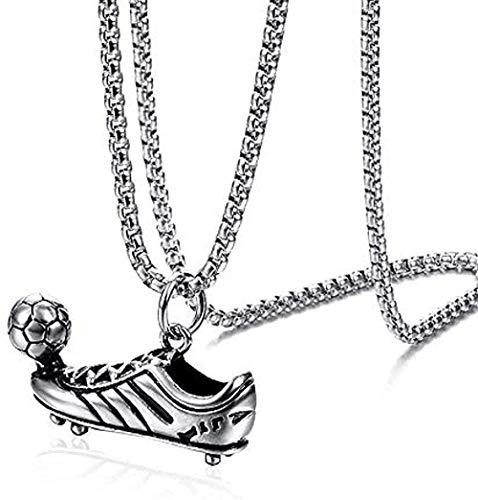 BACKZY MXJP Necklace Punk Football Shoe Pendant Necklace Chain for Boy Hip Hop Pendants Men S Necklace Man Jewelry for Women Men Gift