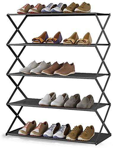 YLCJ 5 tier opvouwbare plank steun voor planken 80x25.5x60 cm Ideaal voor hal, badkamer, woonkamer, slaapkamer en hal (Kleur: geel)