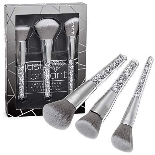 LAHAYE - JUST BRILLIANT Brush Set, Buffer Brush, Powder Brush und Blush Brush