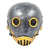 Brand New Wire Mesh Silver Golden Full Face Protection Paintball CS Airsoft Hellboy 1:1 Kroenen Mask Halloween Prop Cosplay