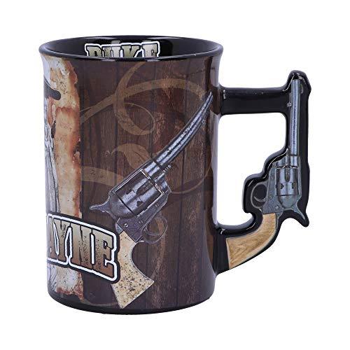 Nemesis Now John Wayne The Duke Gun - Taza para beber (16 cm), color marrón