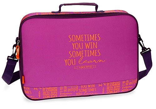 Movom Smile Violet Backpack Shoulder Bag