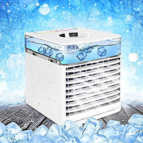 YANRU Condizionatore Caldo Freddo - Facile da Pulire Refrigeratore Stanza, Basso Consumo Energetico Umidificatore Ambiente, per L'Ufficio Viaggi per Famiglie