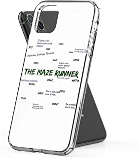 Crystal Clear Phone Cases The Maze Runner Qoutes Case Cover Compatible for iPhone (11)