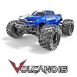 Volcano-16 1/16 Scale Monster Truck - Blue