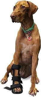 Walkin' Pet Splint for Dogs, Canine Front Leg Splint with Foam Inserts for a More Custom Fit