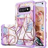 Galaxy S10 Case, Fingic Samsung Galaxy S10 Case Marble 2 in