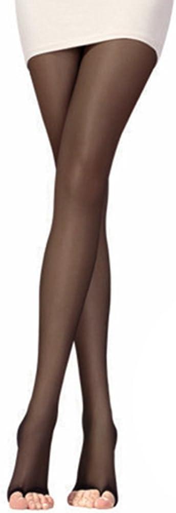 Polytree Women's Open Toe Sheer Ultra-thin Pantyhose