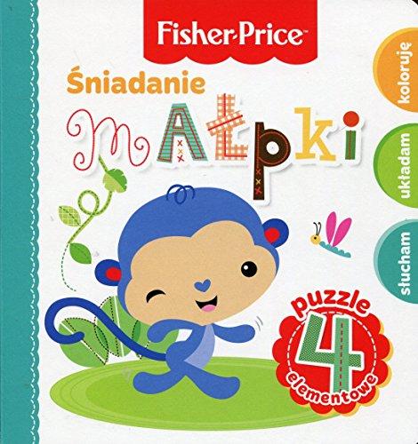 Fisher Price Puzzle Sniadanie malpki