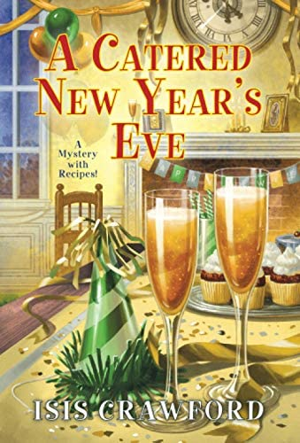 A Catered New Year s Eve A Mystery With Recipes product image