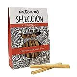 Palo Santo Legnetti Seleccion - La qualità più pregiata in commercio - Paletti Sottili facili da Accendere - Incenso Naturale ideale per purificazione casa ed ambienti - 15 paletti