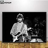 LGXINGLIyidian Kunstplakat Eric Clapton Musiksänger Poster