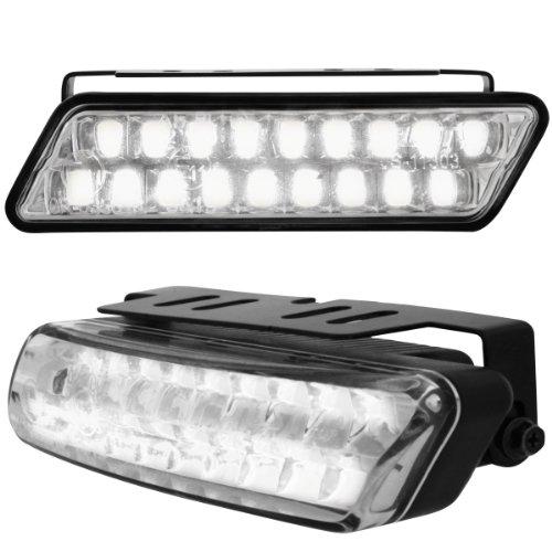 Dectane LGX19 Tagfahrlicht mit 18 Super Flux Piranha LEDs