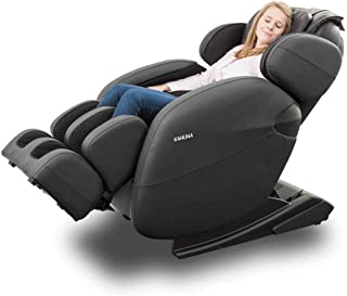 Space-Saving Zero Gravity Full-Body Kahuna Massage Chair Recliner LM6800 with Yoga & Heating Therapy (Black WG)