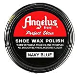 Angelus Brand Perfect Stain Shoe Wax Polish, 3 fl.oz, Navy Blue