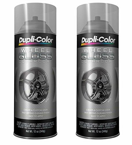 Dupli-Color HWP103 Clear High Performance Wheel Paint - 12 oz. … (2 PACK)