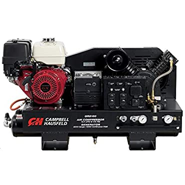 Campbell Hausfeld GR2100 2-in-1 Air Compressor/Generator with GX390 Gas Engine