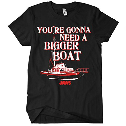 Officially Licensed Merchandise Jaws - You're Gonna Need a Bigger Boat T-shirt