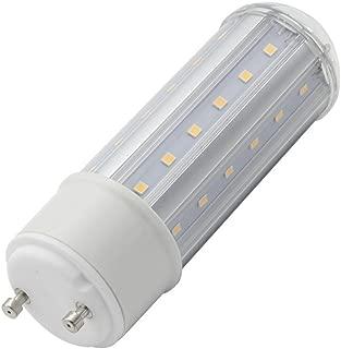 GU24 LED Light Bulbs 8W,AC 120V-265V Input Voltage, Lock Base Halogen Bulb 70-watt Replacement, 800 Lumen,with Plug-in GU24 Base, White Light 6000K