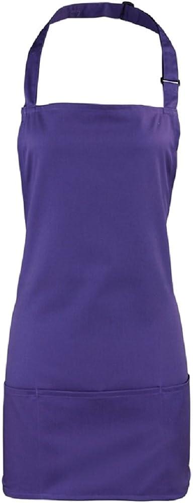 Premier Colours Unisex 2 in 1 Workwear Pocket Apron
