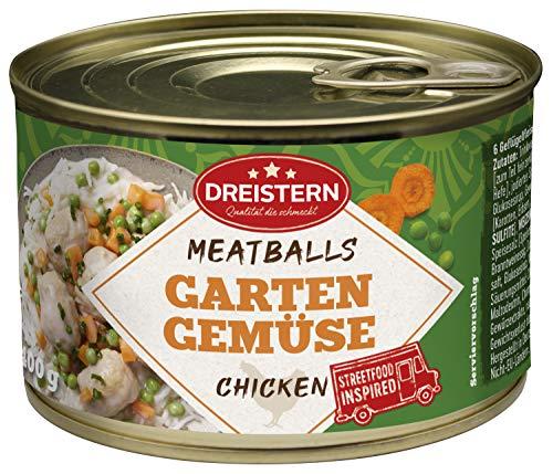 DREISTERN, Geflügel Fleischbällchen in Gärtnerin Sauce g, 400 g