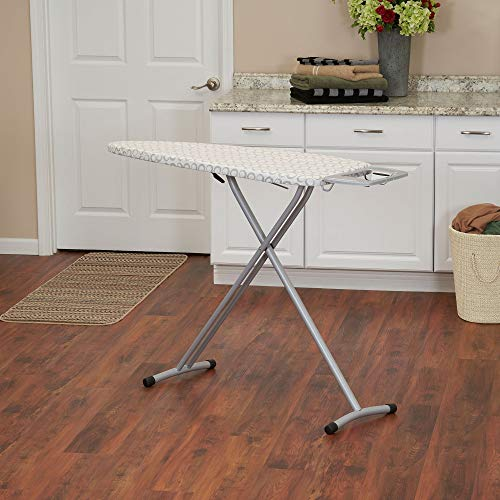 Household Essentials Grande Steel Tri Leg Ironing Board, Wide Top