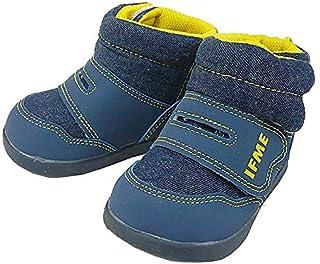 [イフミー] 30-7704 ネイビー ベルクロ ブーツ
