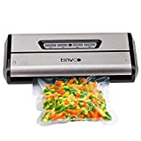 TINVOO Vacuum Sealer Machine, VS100S Upgraded Automatic System Food Sealer with Starter Kit|Led
