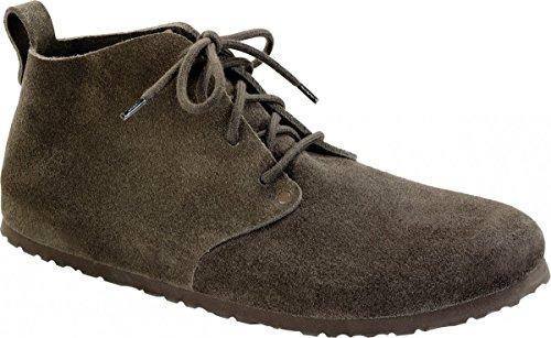 BIRKENSTOCK Boots Dundee Mocca/braun Velours Gr.35-46 692821 + 692823, Größe + Weite:42 schmal
