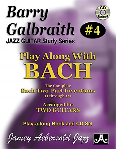 Jazz&Blues AEBERSOLD GALBRAITH B. - PLAY ALONG WITH BACH + CD - gitaar