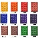 Colorante Bloque de Cera,Tinte De Vela para Hacer Velas,Tintes para Fabricación de Velas,Colorante de Vela de Soja,DIY Tinte de Cera Kit,Materiales para Hacer Velas